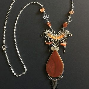 Jewelry - Natural Stone necklace for women unique jewelry
